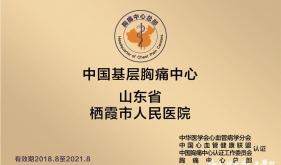 国家级胸痛中心